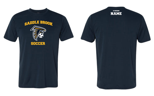 Saddle Brook Soccer Dryfit Performance Tee - Navy