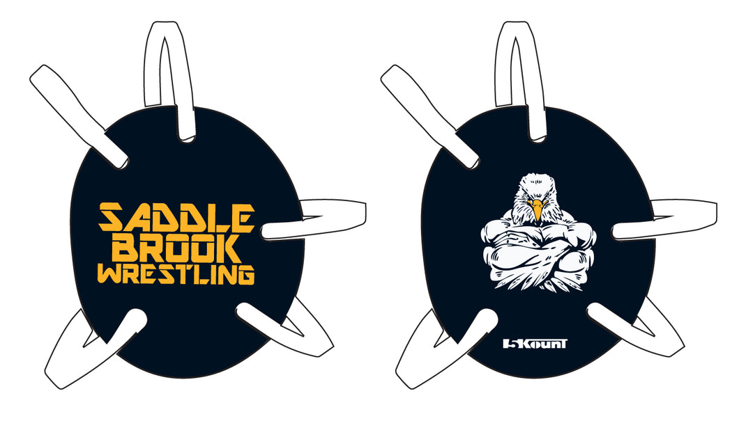 Saddle Brook Youth Wrestling Headgear Decal