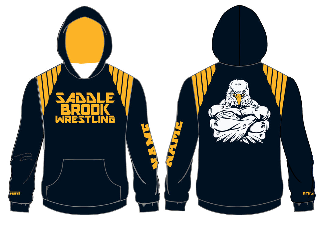 Saddle Brook Youth Wrestling Sublimated Hoodie - 5KounT
