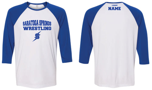Saratoga Springs Baseball Shirt
