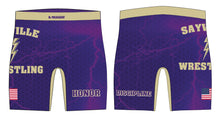 Sayville HS Wrestling Compression Shorts - 5KounT2018