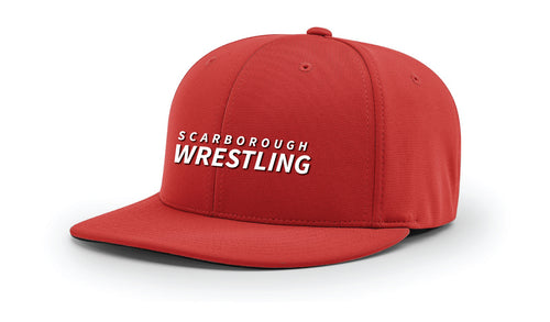 Scarborough Wrestling FlexFit Cap - Red