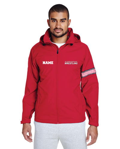 Scarborough Wrestling All Season Hooded Jacket - Red