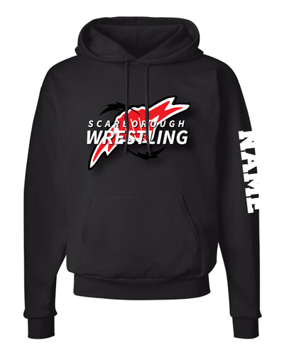 Scarborough Wrestling Cotton Hoodie - Black