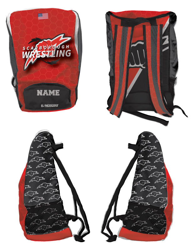 Scarborough Wrestling Sublimated Backpack