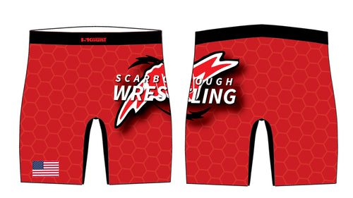 Scarborough Wrestling Sublimated Compression Shorts