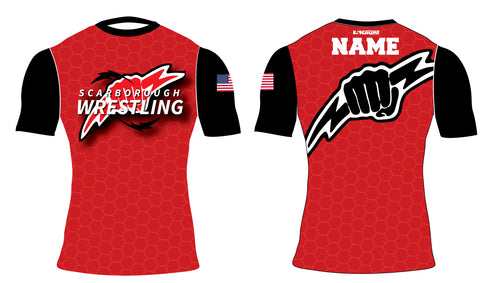 Scarborough Wrestling Sublimated Compression Shirt