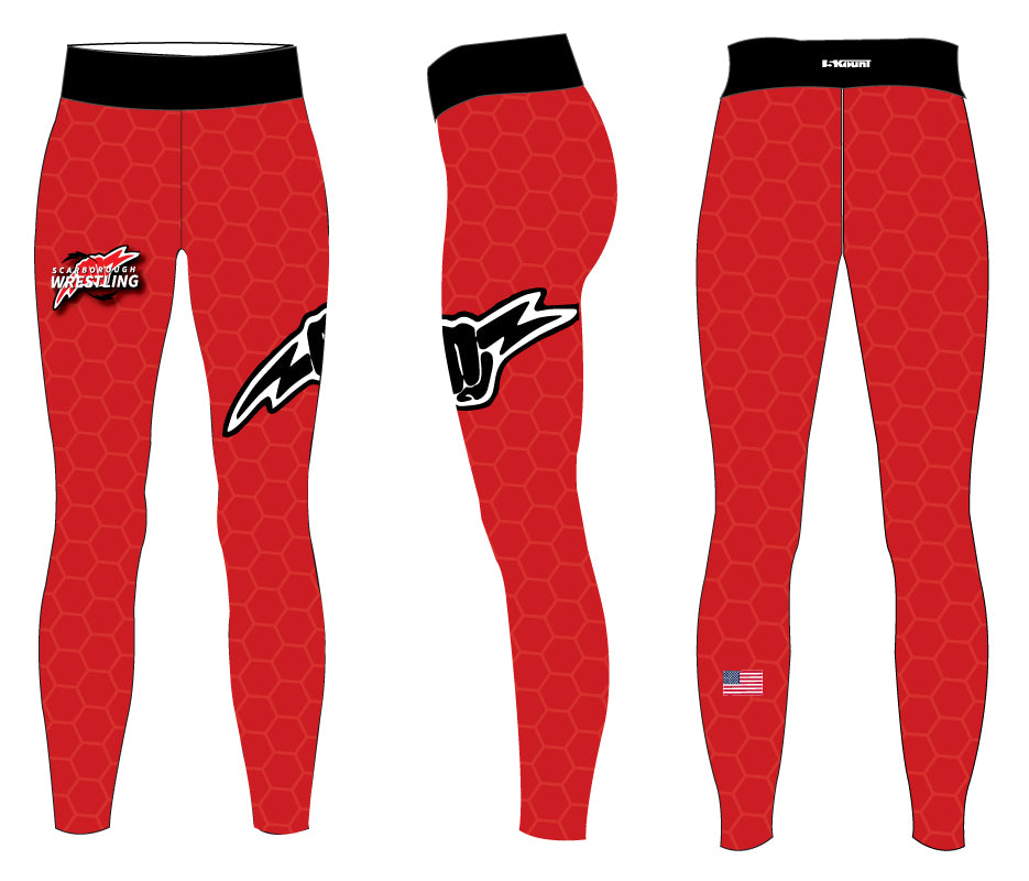 Scarborough Wrestling Sublimated Ladies Legging