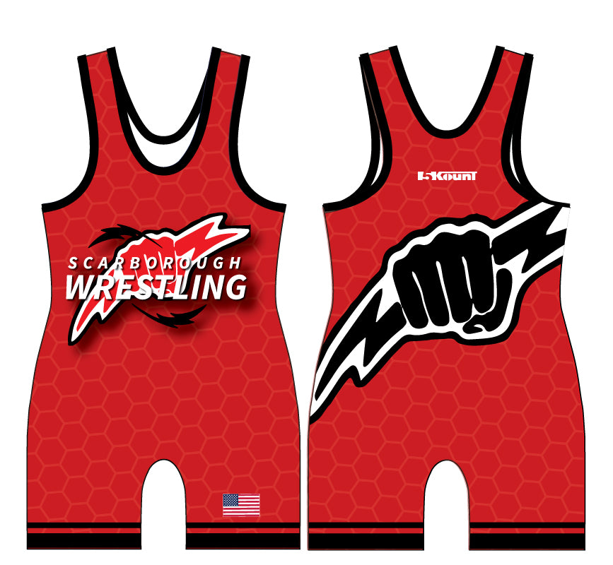 Scarborough Wrestling Sublimated Singlet