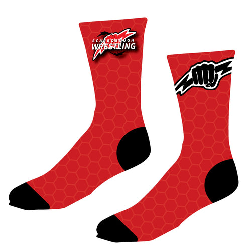 Scarborough Wrestling Sublimated Socks