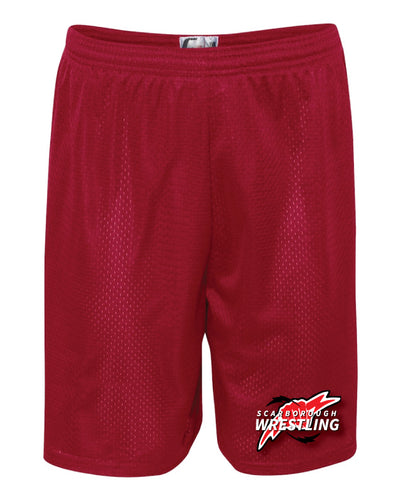 Scarborough Wrestling Tech Shorts - Red