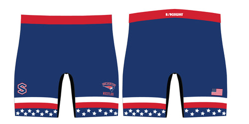 Secaucus Wrestling Sublimated Compression Shorts