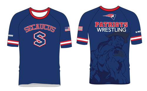 Secaucus Wrestling Sublimated Fight Shirt - 5KounT2018