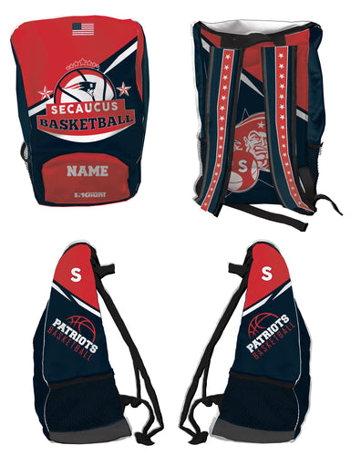 Secaucus Basketball Sublimated Backpack