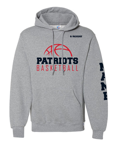 Secaucus Basketball Russell Athletic Cotton Hoodie - Heather Grey