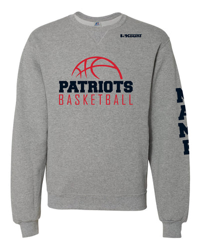 Secaucus Basketball Russell Athletic Cotton Crewneck - Heather Grey