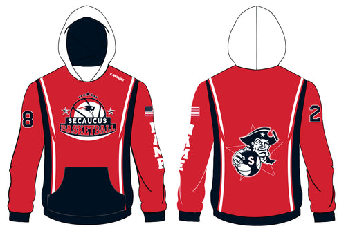 Secaucus Basketball Sublimated Hoodie