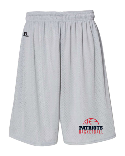 Secaucus Basketball Russell Athletic Tech Shorts - Silver/Navy