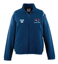 Secaucus Championship and Awards Fleece Full Zip - Navy