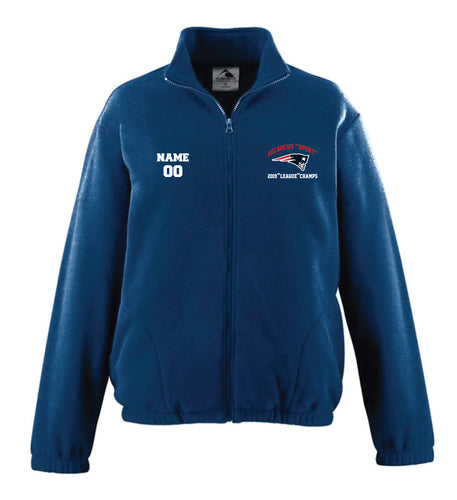 Secaucus Championship and Awards Fleece Full Zip - Navy - 5KounT2018