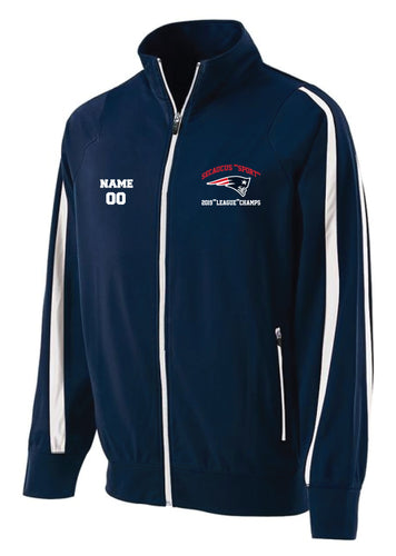 Secaucus Championship and Awards Full Zip - Navy - 5KounT2018