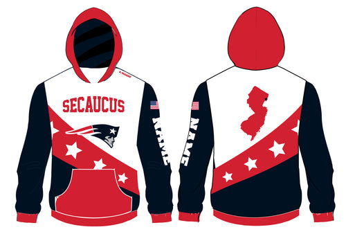 Secaucus Community Sublimated Hoodie v1 - 5KounT2018