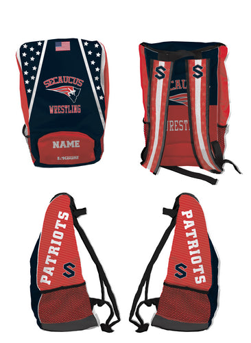 Secaucus Wrestling Sublimated Backpack - 5KounT