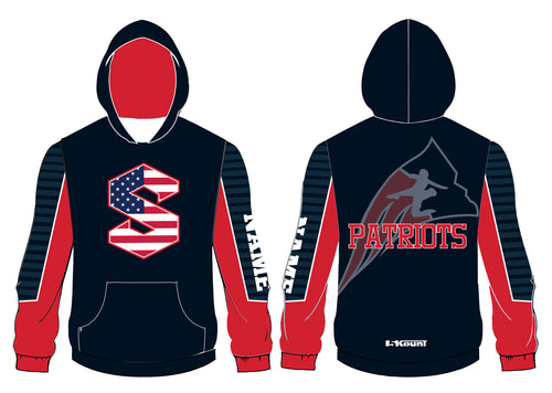 Secaucus Wrestling Sublimated Hoodie v2