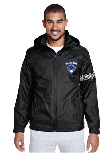 Shaker Wrestling All Season Hooded Jacket - Black
