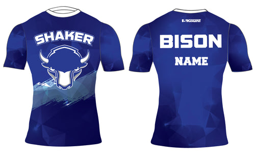 Shaker Wrestling Sublimated Compression Shirt