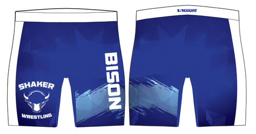 Shaker Wrestling Sublimated Compression Shorts