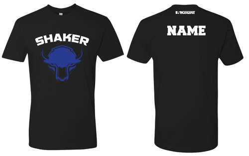 Shaker Wrestling Cotton Crew Tee - Black