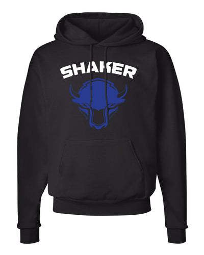 Shaker Wrestling Cotton Hoodie - Black