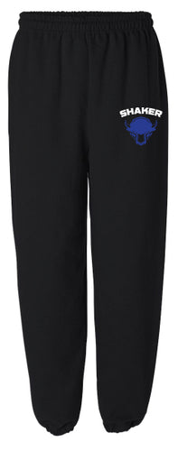 Shaker Wrestling Cotton Sweatpants - Black