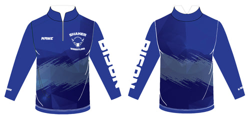 Shaker Wrestling Sublimated Quarter Zip