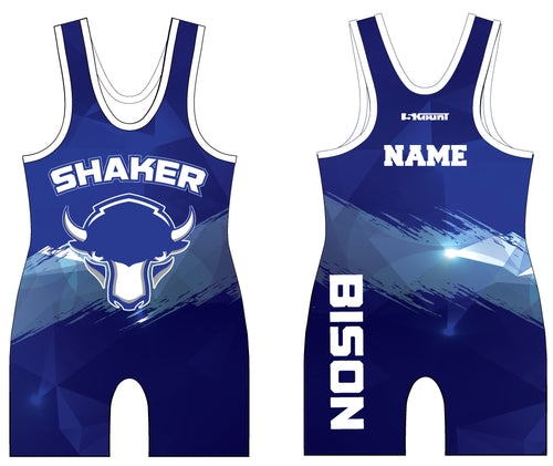 Shaker Wrestling Sublimated Singlet