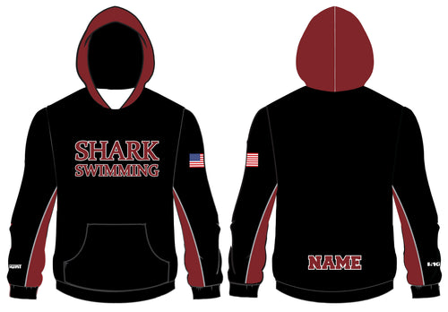 Shark Swimming Sublimated Hoodie - 5KounT2018