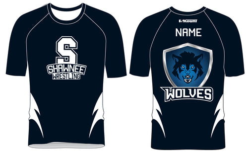 Shawnee HS Wrestling Sublimated Fight Shirt - 5KounT