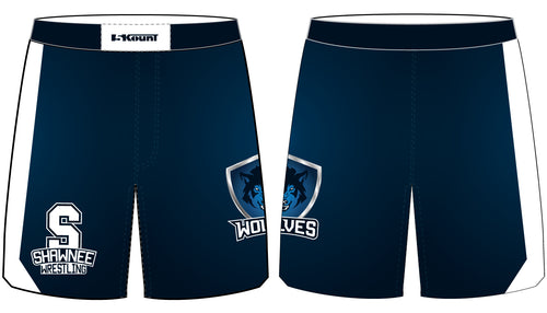 Shawnee HS Wrestling Sublimated Fight Shorts - 5KounT