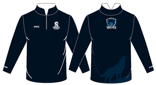 Shawnee HS Wrestling Sublimated Quarter Zip - 5KounT