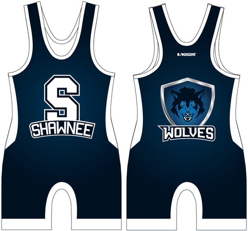 Shawnee HS Wrestling Sublimated Singlet - 5KounT