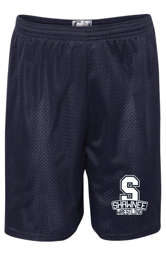 Shawnee HS Wrestling Tech Shorts - 5KounT