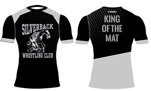 Silverback Wrestling Sublimated Compression Shirt - 5KounT2018