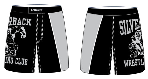 Silverback Wrestling Sublimated Fight Shorts - 5KounT2018