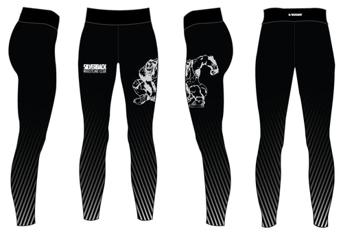 Silverback Wrestling Sublimated Ladies Legging - 5KounT2018