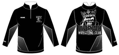 Silverback Wrestling Sublimated Quarter Zip - 5KounT2018