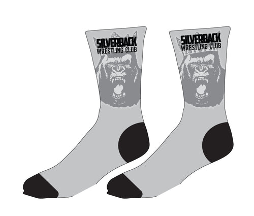 Silverback Wrestling Sublimated Socks - 5KounT2018
