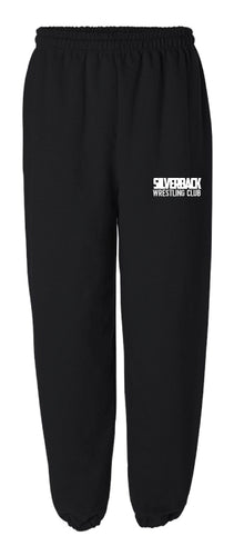 Silverback Wrestling Cotton Sweatpants - Black - 5KounT2018
