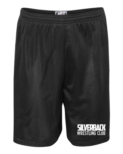 Silverback Wrestling Tech Shorts - Black - 5KounT2018