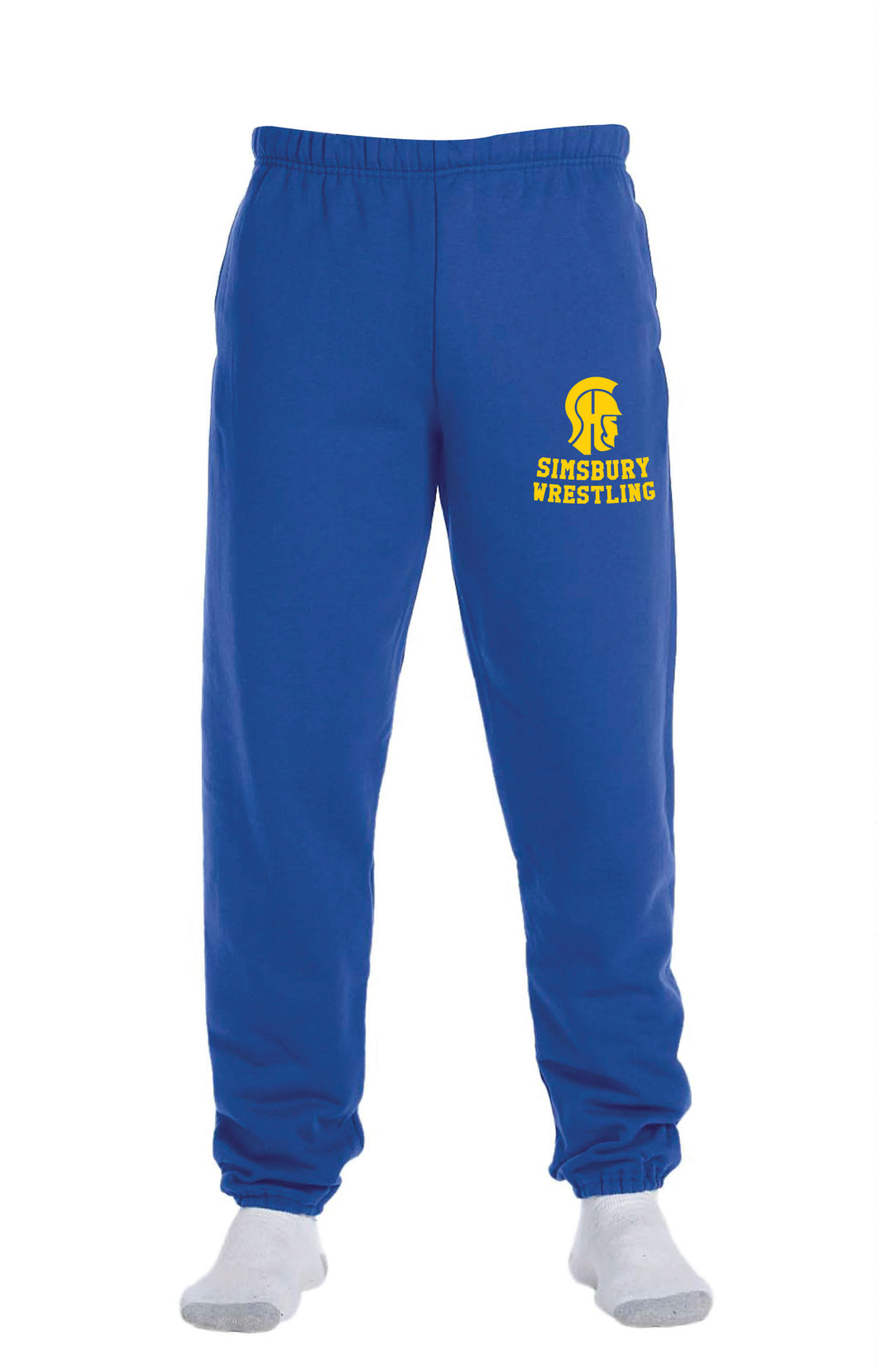 Simsbury Wrestling Cotton Sweatpants - 5KounT